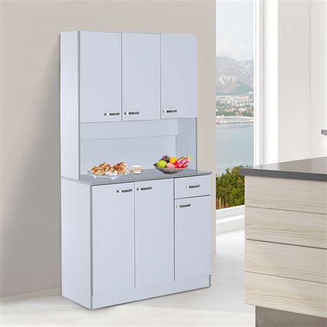 standing kitchen cupboard large tall cart modern