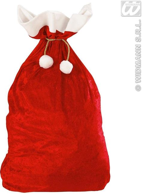 velvet christmas sacks 60 x 100cm fancy dress christmas