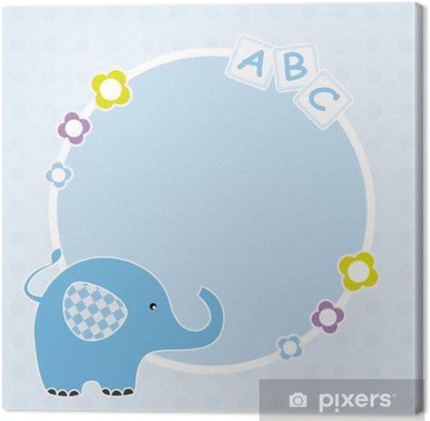 baby blau farbe leinwandbild baby rahmen farbe blau mit einem elefanten pixers 174 wir leben um zu ver 228 ndern