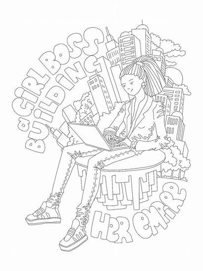 Coloring Printable Strong Power Badass Inspirations Phenomenal