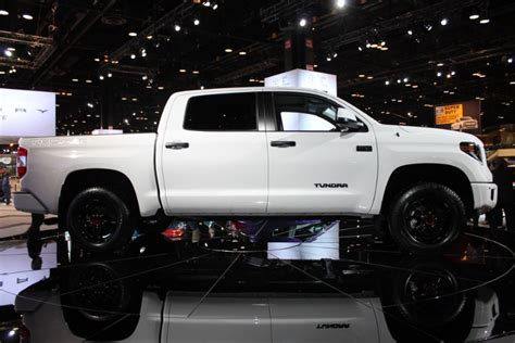 2019 Toyota Tundra Trd Pro by 2019 Toyota Trd Pro Series Models Chicago Auto Show Photo
