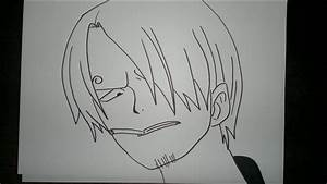 How To Draw Sanji  U30b5 U30f3 U30b8 U306e U63cf U304d U65b9