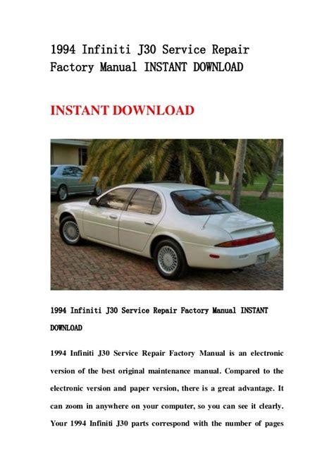 download car manuals 1994 infiniti j user handbook 1994 infiniti j30 service repair factory manual instant download
