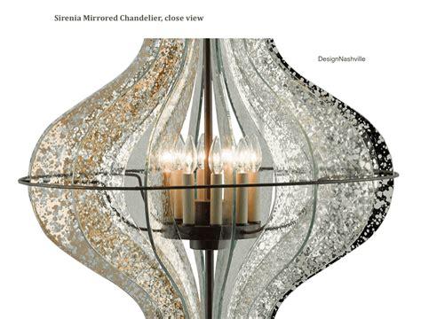Antique Mirror Chandelier by Sirenia Antique Mirror Chandelier