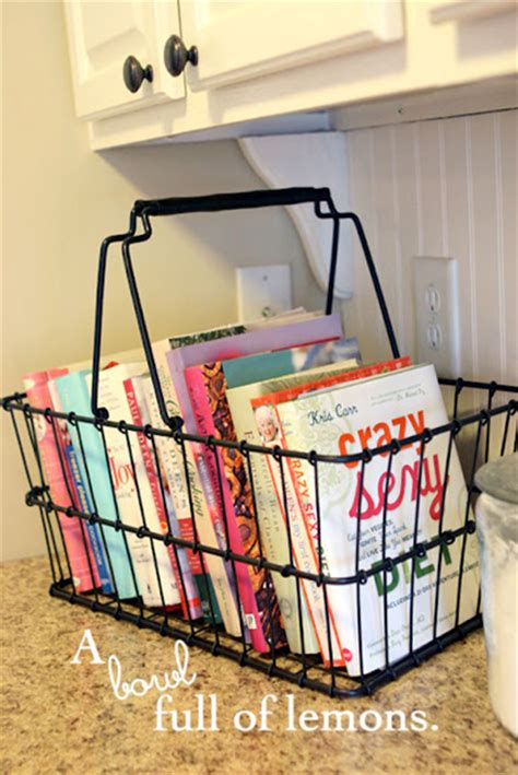 kitchen cookbook storage simple ways to your cookbooks beneath my 3411