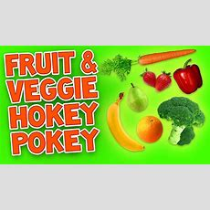 Hokey Pokey (fruit And Veggie)  Kids Dance Songs  Children's Songs By The Learning Station