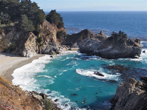 Mcway Cove Big Sur California