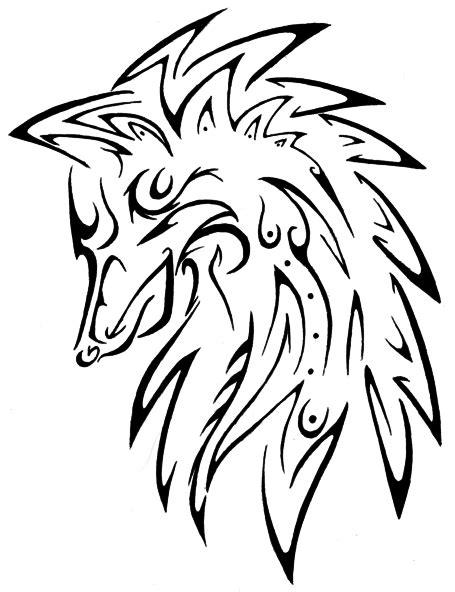Wolf Tattoo by Masae on DeviantArt