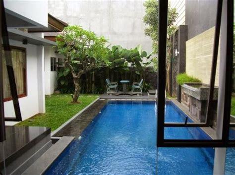 gambar rumah minimalis kolam renang