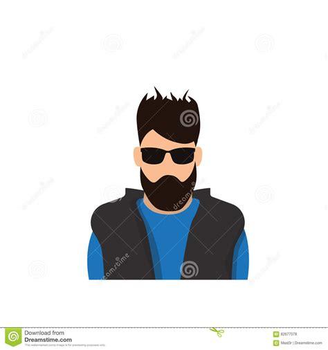 Man Cartoon Portrait Avatar Profile Royalty Free