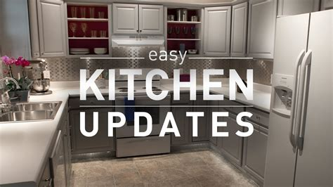Small Kitchen Redo Ideas - budget friendly kitchen makeover from lowe 39 s youtube