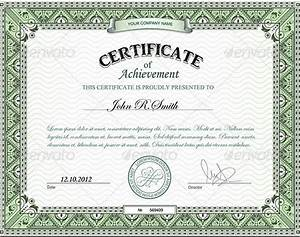 samples of certificates of achievement