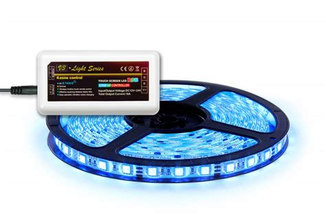 Applamp 5m. Rgb Led Strip With Controller And Adapter, 300