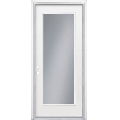 shop reliabilt full lite inswing steel entry door  lowescom