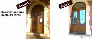 Comment Poser Une Porte A Galandage En Renovation : comment poser une porte d 39 entr e en r novation la ~ Melissatoandfro.com Idées de Décoration