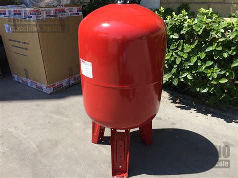 pressione vaso espansione autoclave 50 litri termosifoni in ghisa scheda tecnica