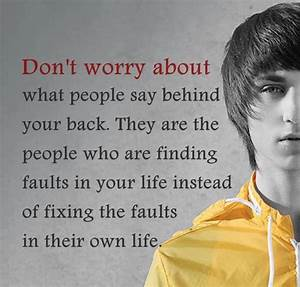 Don 39 t Worry About People Quotes