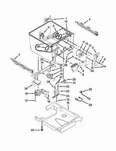 Kitchenaid Kudh03dtbl0 Dishwasher Parts