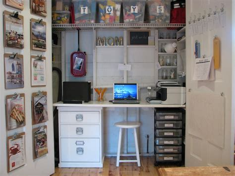 desk in a closet closet desk design ideas