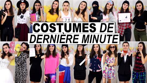 déguisement dernière minute id 233 es de costumes de derni 232 re minute 2015