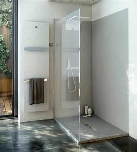 Duschtür 80 Cm : duschr ckwand ohne fugen 240x100 cm aus 7 mm mineralguss ~ Orissabook.com Haus und Dekorationen