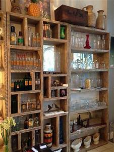 25 best ideas about reclaimed wood furniture on pinterest With kitchen cabinets lowes with large pallet wall art