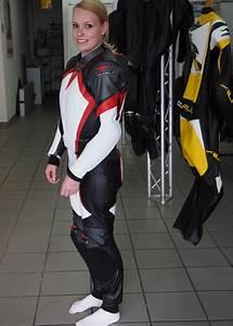 Motorradbekleidung damen lederkombi