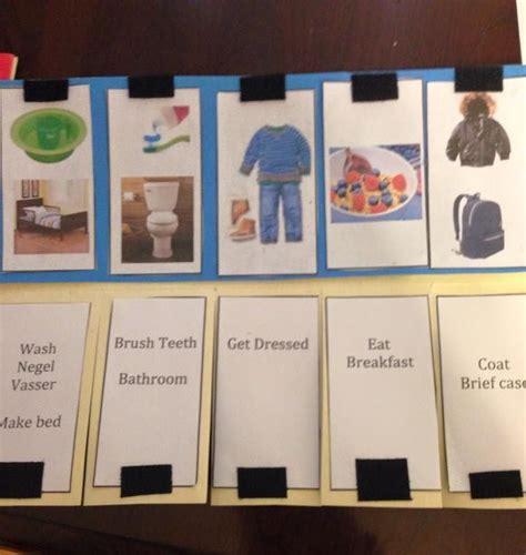 Toddler Morning Routine Chart