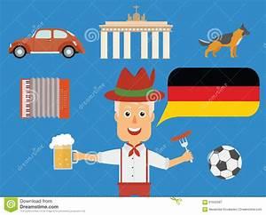 Traditionen In Deutschland : reis duits concept duitse tradities en cultuurillustratie vector illustratie illustratie ~ Orissabook.com Haus und Dekorationen