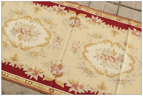 Rugs Home Decorators Collection: VINTAGE FRENCH Aubusson Needlepoint Area Rug Home Decor