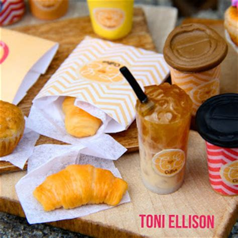 Toni Ellison Coffee To Go  Polymer Clay, Resin, Shrinky Dink