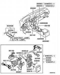 Wiring  U0026 Attaching Parts For  Montero