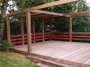 Construire Pergola Bois : construire pergola bois ~ Preciouscoupons.com Idées de Décoration