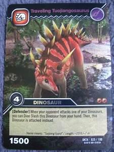 Image - Tuojiangosaurus-Traveler TCG Card 1-Silver.png ...