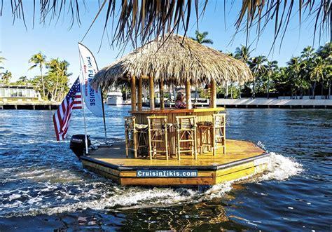 cruise  pittsburghs  rivers   floating tiki