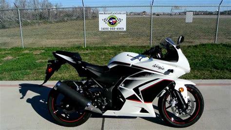 2011 Kawasaki Ninja 250r Pearl White Special Edition