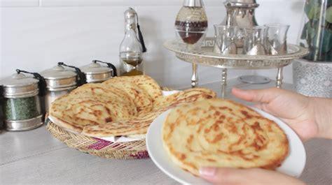 cuisine marocaine facile ramadan spécial ramadan recette meloui facile msemen