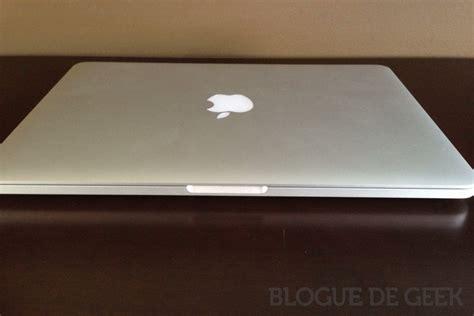 macbook bureau macbook pro 13 avec écran retina 2013 blogue de
