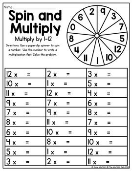 multiplication spin  multiply   moffatt girls tpt