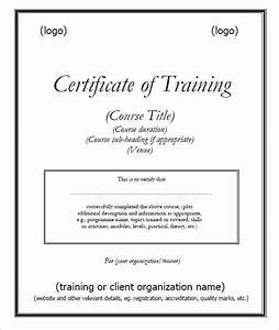 certificate of attendance seminar template - 6 free training certificate templates excel pdf formats