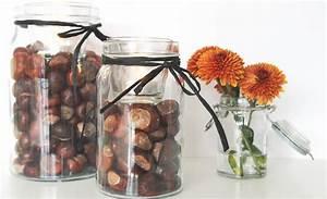 Einfache Herbstdeko Tisch : ganz einfache ganz schnelle kastanien deko idee ~ Markanthonyermac.com Haus und Dekorationen