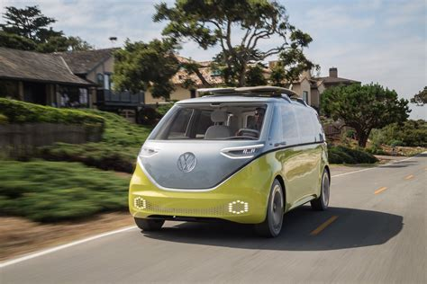 vw electric microbus      pictures