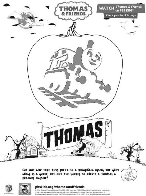 Thomas the train pumpkin carving stencil maxwellsz
