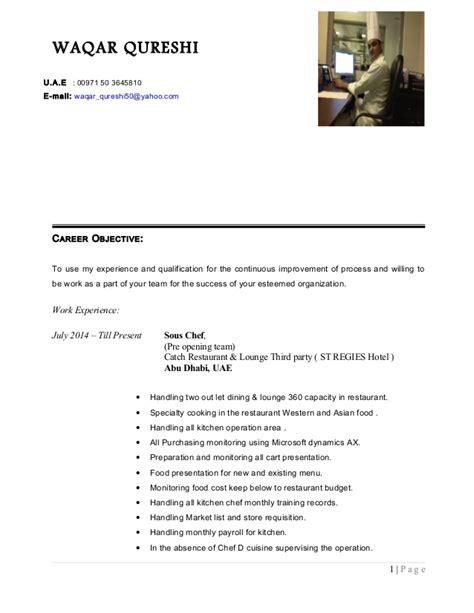waqar resume