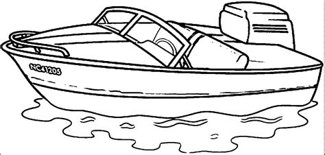 motor boat clipart black and white motor boat coloring pages coloring home