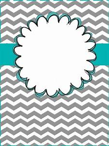 25 best ideas about binder covers free on pinterest With cool binder cover templates
