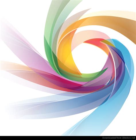 colorful abstract design vector graphic free vector