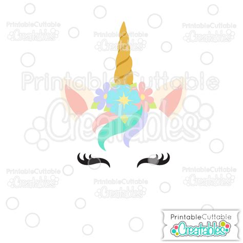 +u can use these images for making wall decoration, adding to clothing, and other things. Unicorn Face Free SVG Cutting File for Silhouette, Cricut ...