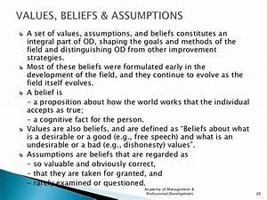 personal beliefs examples