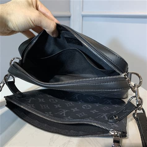 louis vuitton trio messenger aaa handbag